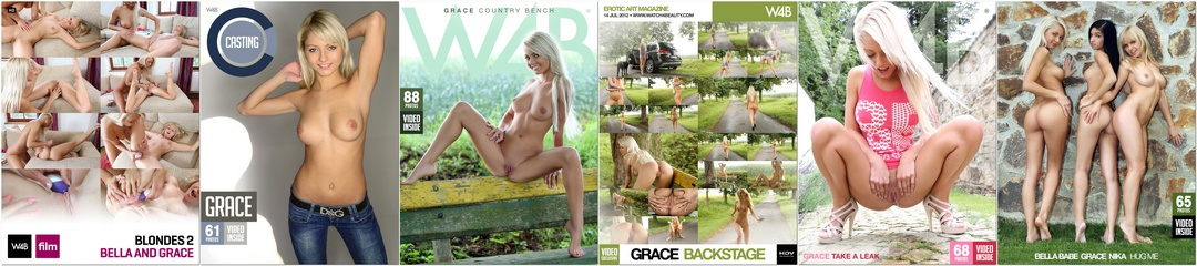 [Watch4Beauty] Grace - Photo & Video Pack 2011-2012
